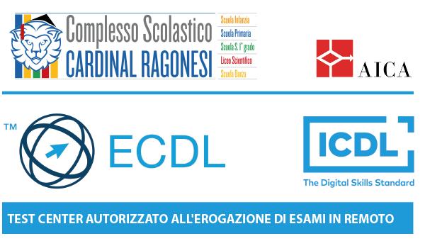 1 evidenza ECDL RAGONESI 600x340 - ECDL/ICDL - ESAMI IN REMOTO