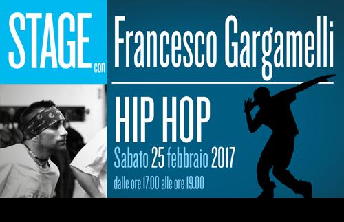 2 Francesco Gargamelli Stage HIPHOP 2017 500x323news copia - Sabato 25 febbraio. Scuola Danza. Stage con Francesco Gargamelli - Hip Hop