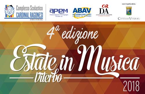 EVIDENZA EstateinMusica - 16-21 luglio - Estate in Musica Viterbo 4a edizione