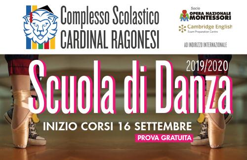 EVIDENZA danza - Nuovi corsi di Danza al Ragonesi 2019/2020