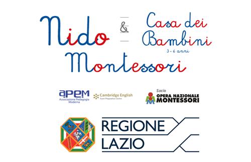EVIDENZA accredito reg lazio - Nido Montessori accreditato alla Regione Lazio