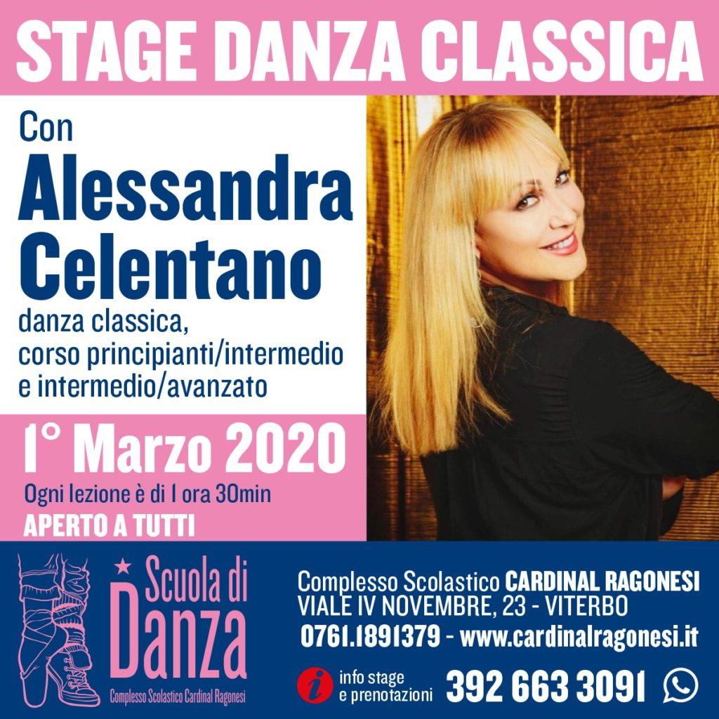 2 DANZA Classica 1marzo2020 1024x1024 - STAGE DANZA CLASSICA - Con Alessandra Celentano