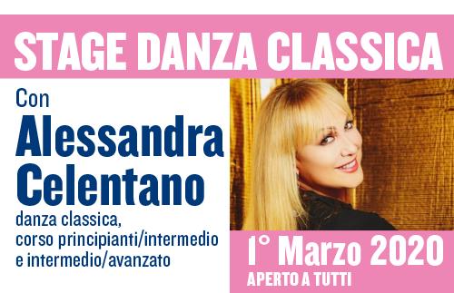 EVIDENZA openday 18gen20 copia - STAGE DANZA CLASSICA - Con Alessandra Celentano