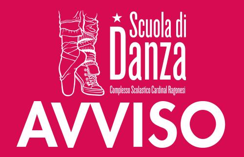 AVVISO DANZA Ragonesi con Alessandra 2020 - AVVISO Scuola di Danza • Dpcm del 24.10.2020
