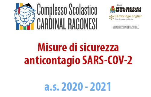 EVIDENZA Misure di sicurezza anticontagio SARS COV 2 20 21 - Misure di sicurezza anticontagio SARS-COV-2