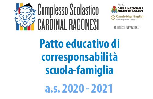 EVIDENZA corresponsabilità 20 21 - Patto educativo di corresponsabilità scuola-famiglia 2020/2021