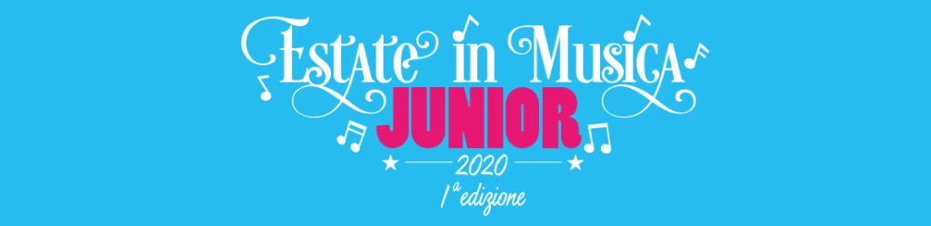 titolo JUNIOR2020 1024x249 - 8-11 luglio 2020- Estate in Musica Viterbo JUNIOR 1a edizione